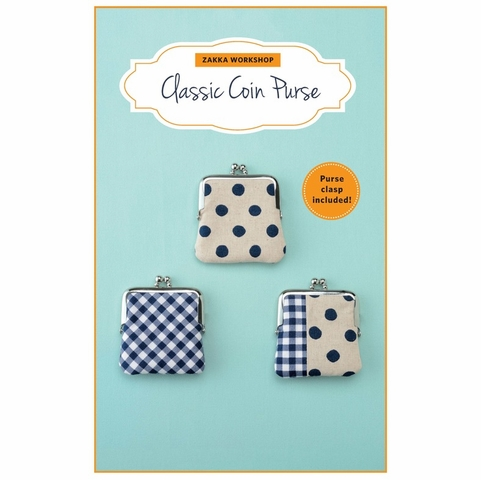 NOTIONS Zakka Workshop, Classic Coin Purse Kit