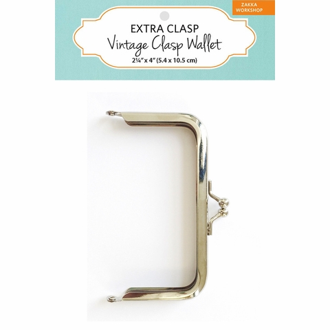 Zakka Workshop, Extra Clasp Vintage Clasp Wallet