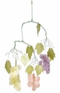 Capiz Wind Chime, Grapes