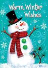 Garden Flag, Christmas Wishes, Whimsical Snowman, Double Sided
