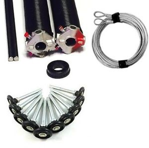Super Pac Overhaul Kit2 Springs, 1 pr Winding Tools,10 Poly Quiet Rollers,1 Pr Cables.1 Replacement Bushing.