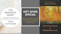 The Monastic Heart & 38 Personal Stories Gift Giver Special