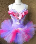 Pastel Purple Fuchsia Rave Outfit