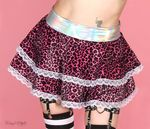 Pink Kitty Skater Skirt