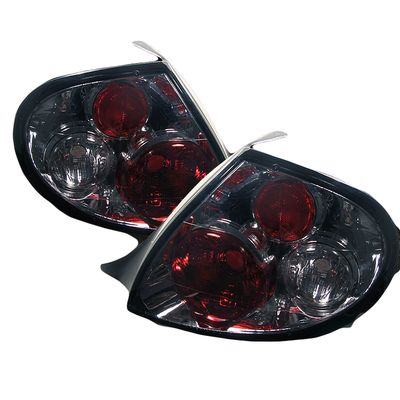 00-02 Dodge Neon Euro Altezza Tail Lights - Smoked ALT-YD-DN00-SM By Spyder