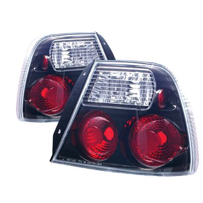 00-02 Hyundai Accent Euro Style Altezza Tail Lights - Black