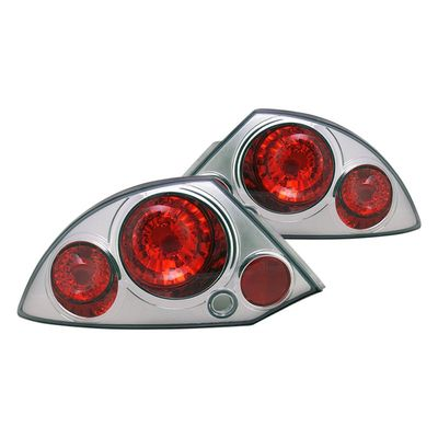 00-02 Mitsubishi Eclipse Altezza Tail Lights - Chrome