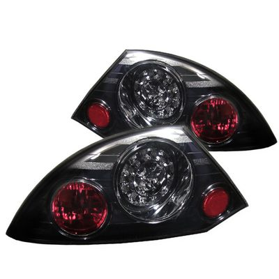 00-02 Mitsubishi Eclipse Euro LED Tail Lights - Smoked ALT-YD-ME00-LED-SM By Spyder