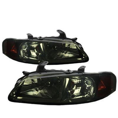 00-03 Nissan Sentra Euro Style Crystal Headlights - Smoked