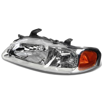 00-03 Nissan Sentra LH Left Side OE Style Headlight Lamp Replacement Chrome