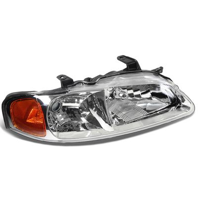 00-03 Nissan Sentra RH Right Side OE Style Headlight Lamp Replacement Chrome