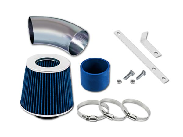 00-03 Toyota RAV4 2.0L L4 / 04-05 Toyota RAV4 2.4L L4 Short Ram Air Intake Kit - Blue