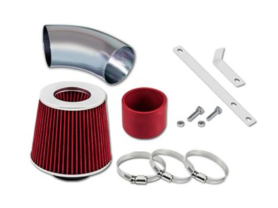 00-03 Toyota RAV4 2.0L L4 / 04-05 Toyota RAV4 2.4L L4 Short Ram Air Intake Kit - Red