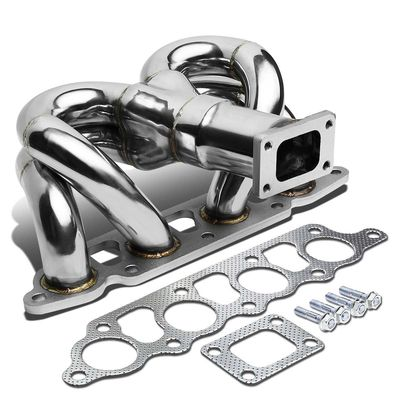 00-04 Ford Focus / 01-04 Escape 2.0 Stainless Steel T25 Ram Horn Turbo Exhaust Manifold