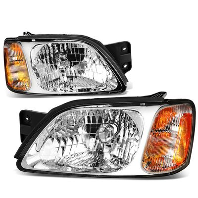 00-04 Subaru Legacy GT Headlight Assembly (Driver & Passenger Side)
