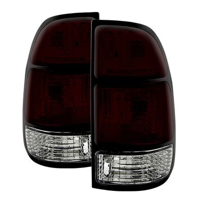 00-04 Toyota Tundra OEM Style Replacement Tail Lights Pair - Smoked