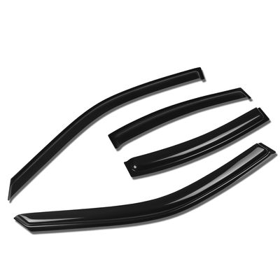 00-05 BMW E46 Wagon Tape-On Window Visor Deflector Rain Guard (4PC) - 1st gen XE10