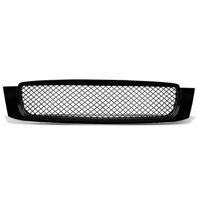 00-05 Cadillac Deville ABS Plastic Front Bumper Grill Grille - Black