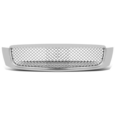00-05 Cadillac Deville ABS Plastic Front Bumper Grill Grille - Chrome