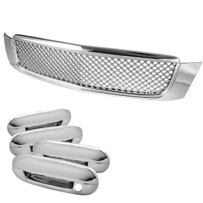 00-05 CADILLAC DEVILLE FRONT BENTLEY STYLE GRILL GRILLE+DOOR HANDLE TRIM COVER