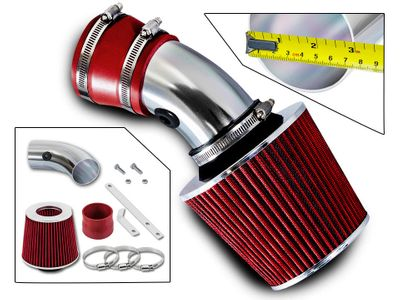 00-05 Chevy Impala 3.8L V6 Short RAM Air Induction Intake - Red