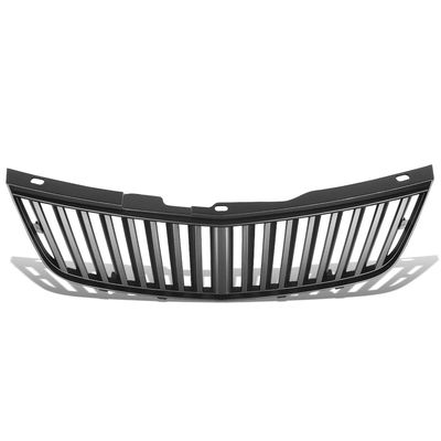 00-05 Chevy Impala W-Body ABS Plastic Vertical Front Bumper Grille (Black)