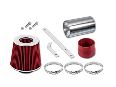 00-03 Pontiac Grand Prix 3.1L V6 Short Ram Air Intake Kit - Red