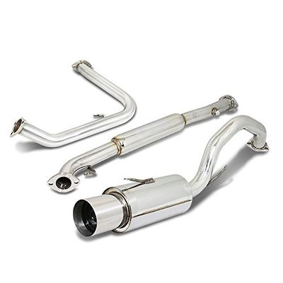 00-05 Mitsubishi Eclipse 2.4L GS RS Cat Back Exhaust - Stainless