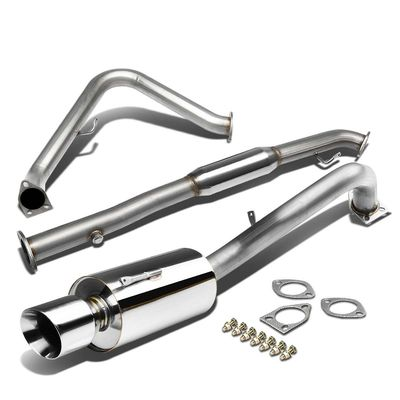 00-05 Mitsubishi Eclipse RS / GS 2.4L Performance Catback Exhaust - Roll Tip
