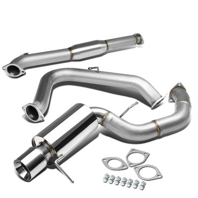 00-05 Mitsubishi Eclipse V6 Single S/S Catback Exhaust Rolled Tip
