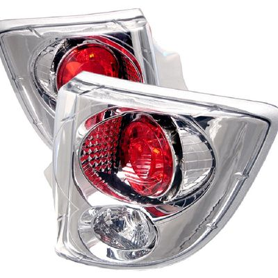 00-05 Toyota Celica Euro Altezza Tail Lights - Chrome ALT-YD-TCEL00-C By Spyder
