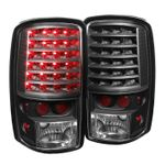00-06 Chevy / GMC Yukon Suburban Tahoe Denali Performance LED Tail Lights - Black