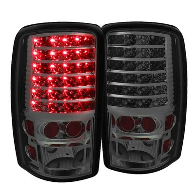 00-06 Chevy / GMC Yukon Suburban Tahoe Denali Performance LED Tail Lights - Smoked