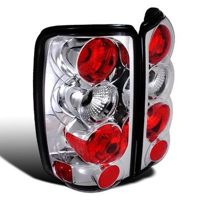 00-06 Chevy Suburban / Tahoe / Yukon Denali Euor Altezza Tail Lights - Chrome