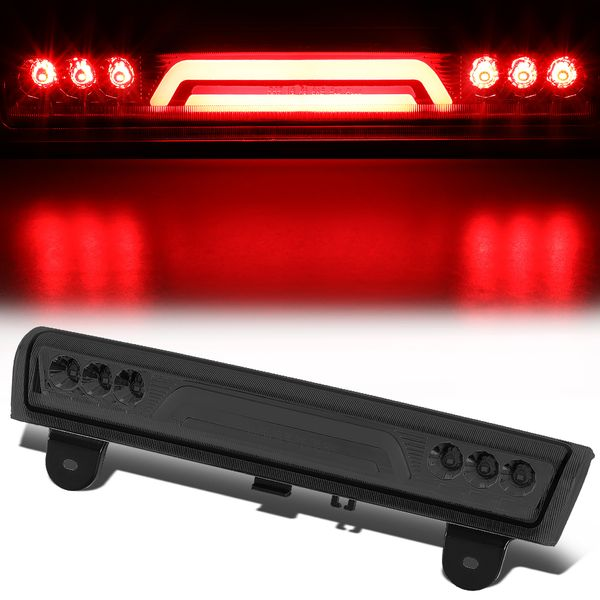 00-06 Chevy Suburban/Tahoe/Yukon XL 3D LED Bar 3rd Brake Light - Smoked Lens