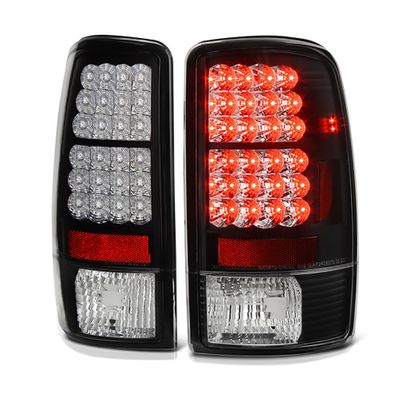 00-06 Chevy Tahoe / Suburban / Yukon Euro LED Tail Lights - Black ALT-YD-CD00-LED-BK By Spyder
