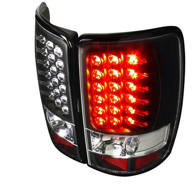 00-06 Chevy Tahoe / Suburban / Yukon Euro LED Tail Lights - Black