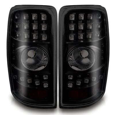 00-06 Chevy Tahoe / Suburban / Yukon Euro LED Tail Lights - Black Smoked WJ20-0007-05