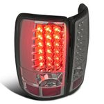 00-06 Chevy Tahoe / Suburban / Yukon Euro LED Tail Lights - Smoked