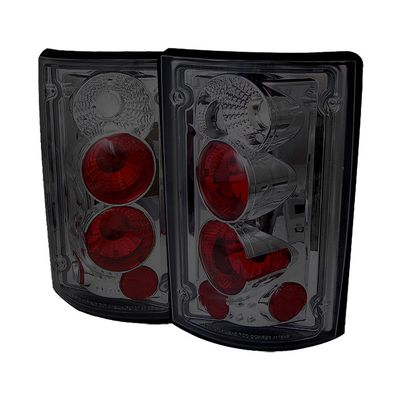 00-06 Ford Excursion / 95-06 Econoline Euro Altezza Tail Lights - Smoked