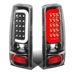 00-06 GMC Yukon / Chevy Suburban / Tahoe Black Housing Clear Lens 3D LED Brake Tail Lights