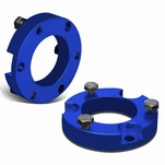 """00-06 Toyota Tundra 2WD 4WD Blue 2"""" Front Suspension Leveling Lift Kit"""