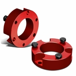 """00-06 Toyota Tundra 2WD/4WD Red 3"""" Front Suspension Leveling Lift Kit"""