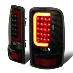 00-06 Yukon Denali / Chevy Suburban / Tahoe 3D LED Tail Brake Lights (Black Housing Smoked Lens)