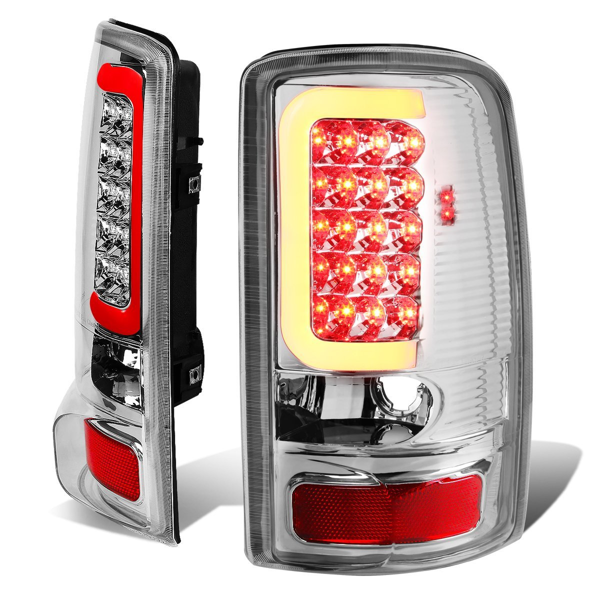 Chevy Suburban Tahoe Led Tail Brake Lights Click To Enlarge