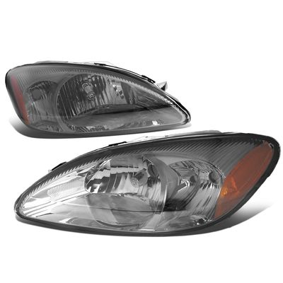 00-07 Ford Taurus Headlight Assembly (Driver & Passenger Side) - Smoked Amber
