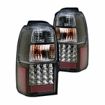 01-02 Toyota 4Runner Euro Style LED Tail Lights - Black