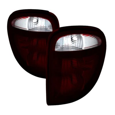 01-03 Dodge Grand Caravan /Plymouth Grand Voyager / Chrysler Town & Country / Voyager OEM Style Tail Lights -Red Smoked