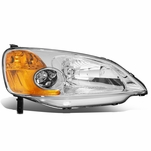 01-03 Honda Civic Right OE Style Headlight Headlamp Replacement HO2503116