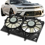 01-03 Isuzu Rodeo Sport 2.2L AT OE Style Radiator Cooling Fan Kit IZ3115101